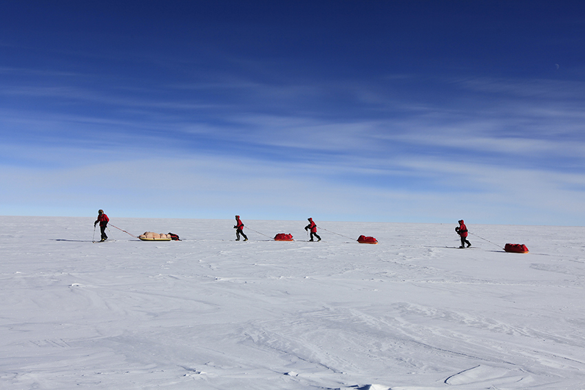 Ski South Pole B 3 by John BeattyALE