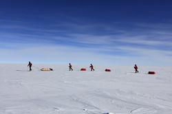 Ski South Pole B 3 by John BeattyALE