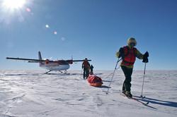 Ski South Pole B 5 by Russ HepburnALE
