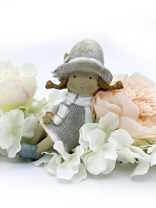 Figurine assise odel céramique