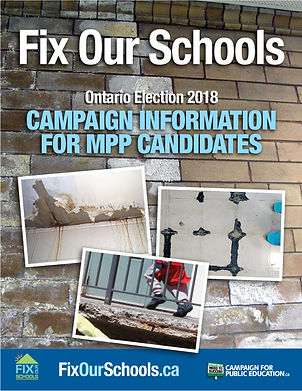 MPP information booklet for Fix Our Schools
