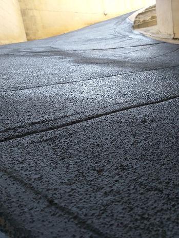 Anti Skid Coating for garage ramps