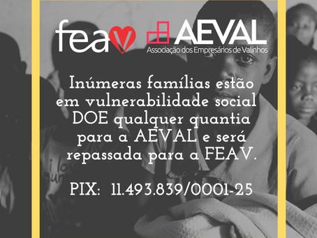 AEVAL está em campanha em prol das entidades da FEAV