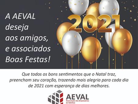 AEVAL deseja Boas Festas!