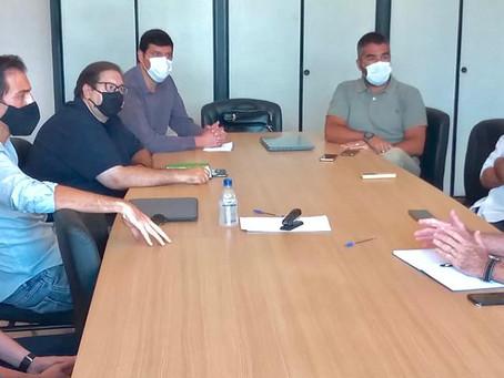 """Lideranças do """"Força Valinhos"""" se reúnem com Secretário do Desenvolvimento Econômico"""