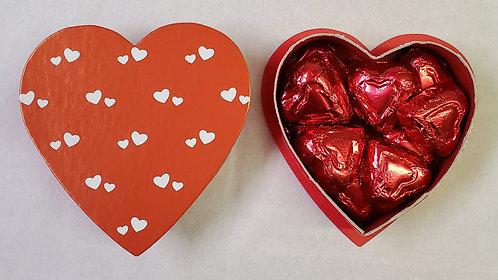 3 oz. Mini Hearts Patterned Heart