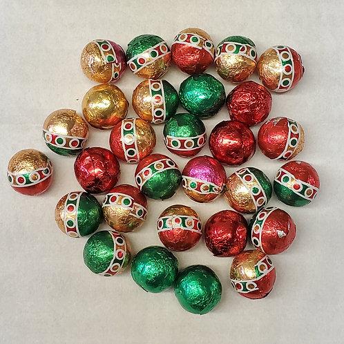 16 oz. Milk Chocolate Christmas Balls