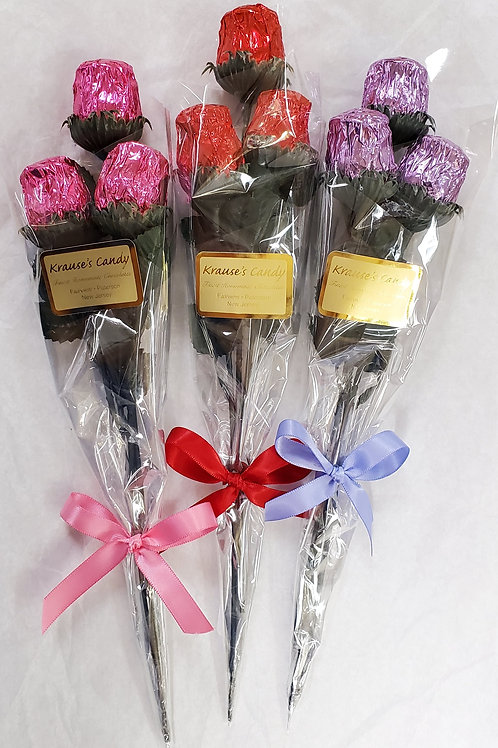 3-piece Princess Roses