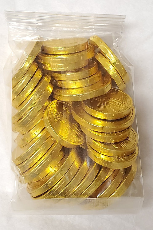 Milk Chocolate Gold Coins