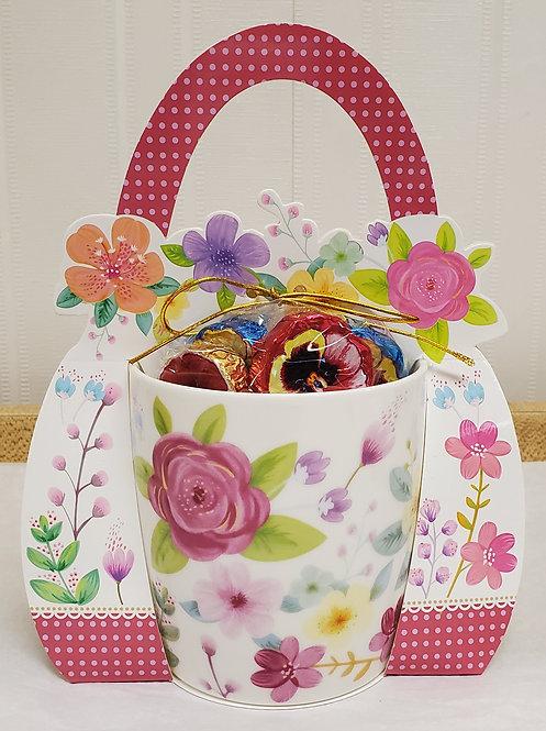 Whimsical Flower Mug