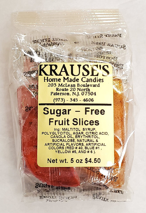 Sugar-Free Fruit Slices