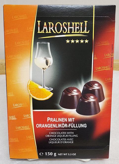 Laroshell Orange Liqueur Chocolates
