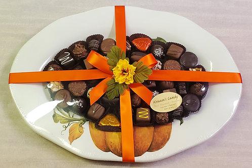 Large Pumpkin Plate