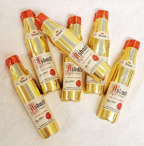 Single Asbach Brandy Bottles