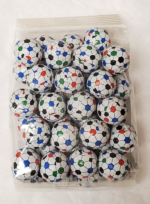 Milk Chocolate Soccer Balls