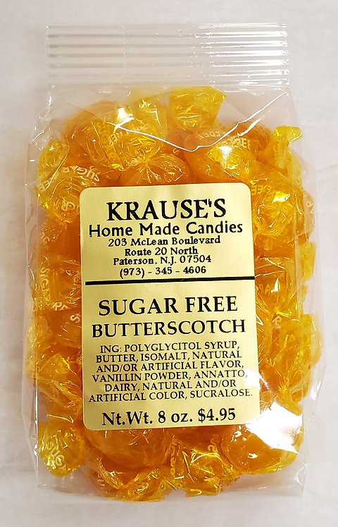 Sugar Free Butterscotch