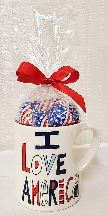 """""""I Love America"""" Mug"""