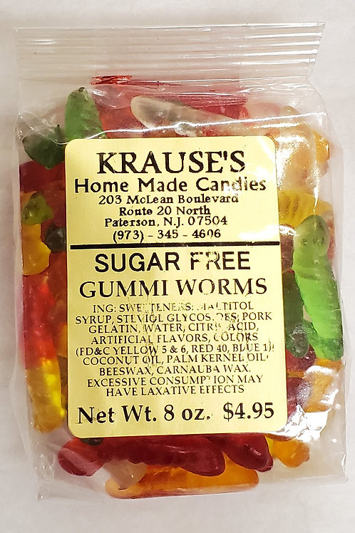 Sugar-Free Gummi Worms