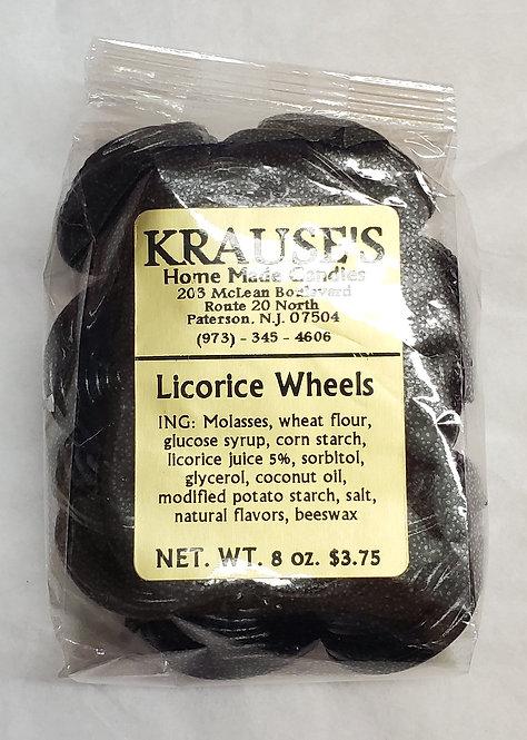 Licorice Wheels
