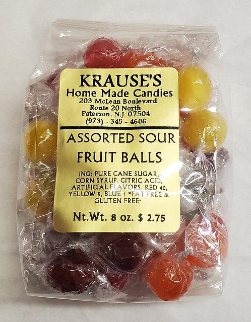 Assorted Sour Fruit Balls