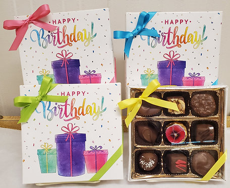 Happy Birthday Square Box