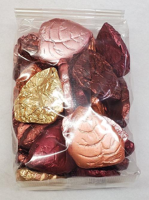 Dark Chocolate Fall Leaves