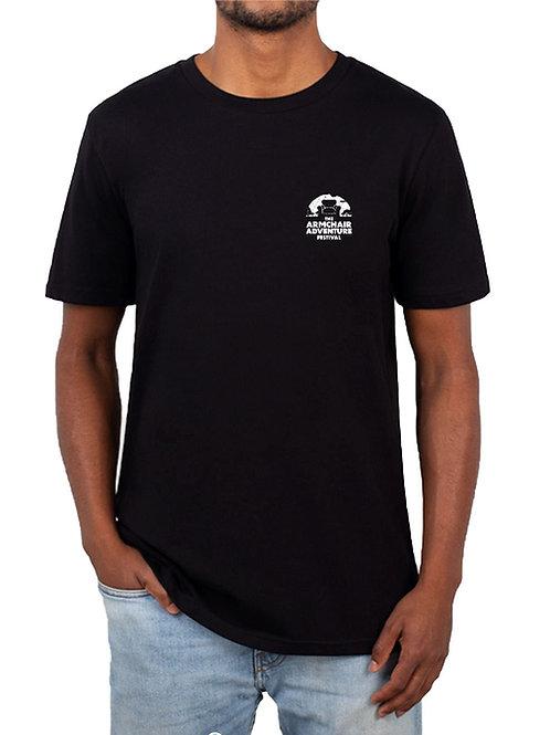 Armchair Adventure Festival T-Shirt – Black