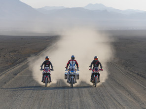 The Armchair Adventure Festival gets support from Honda UK.
