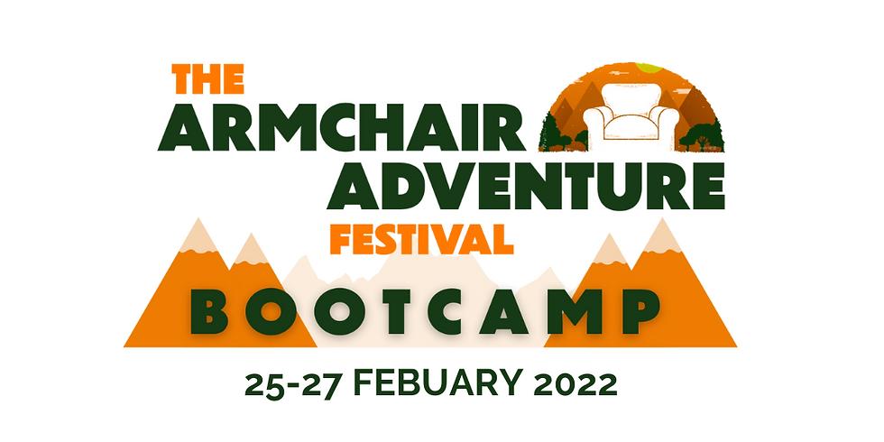 The Armchair Adventure Festival Bootcamp