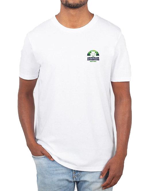 Armchair Adventure Festival T-Shirt – White