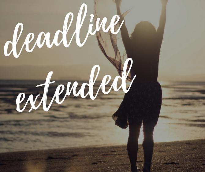Hotel Deadline Extended