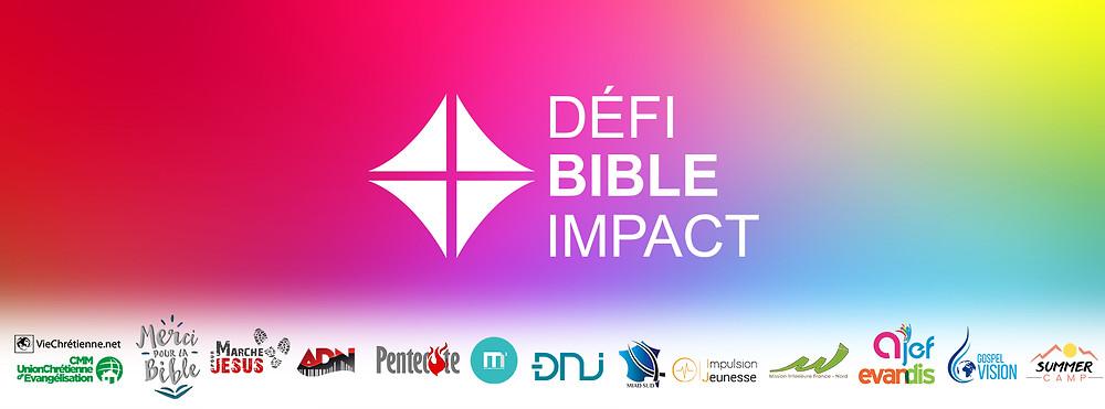 Le 24 Mars 2018 à partir de 14H30, l'église organise une sortie d'évangélisation dans le but de distribuer des Bibles à des personnes de notre ville ! Sois motivé et viens relever le défi de Bible Impact !
