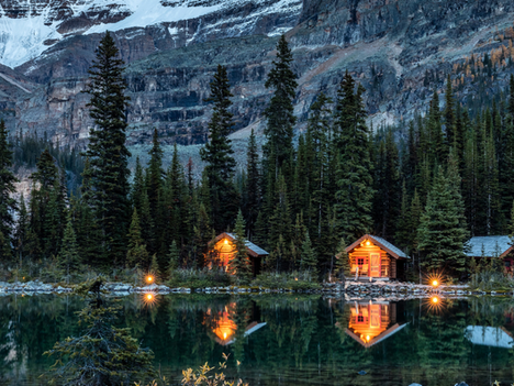The Iconic Lake O'Hara Lodge in British Columbia Uses Bio-Based Eco-Gel™ to Protect From Wildfires