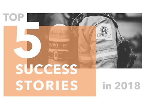 Top 5 Success Stories in 2018
