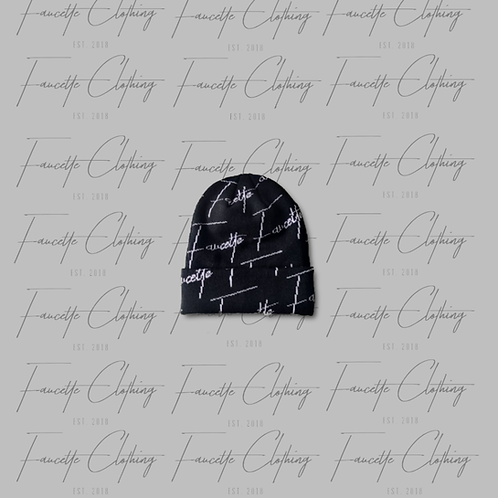 """The """"Faucette Black"""" Skully"""