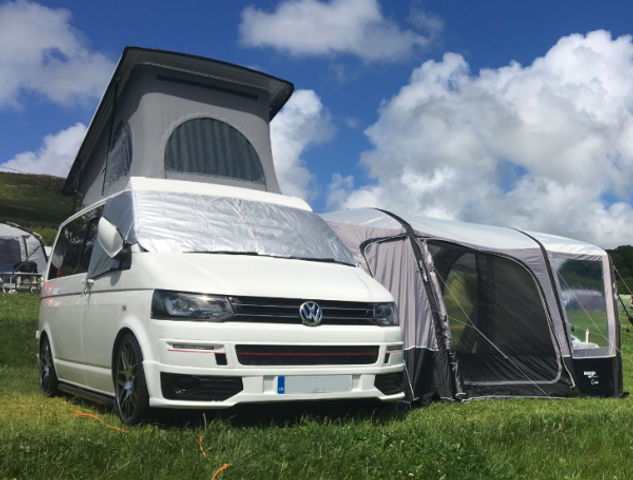 Vw Campervan with awning