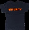 T-shirt manica corta stampa arancione