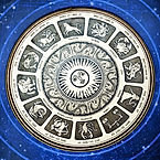 astrological plate with all signs of zod