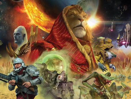 E29 | Games | Twilight Imperium - Dominate Space Cats and Galactic Rome