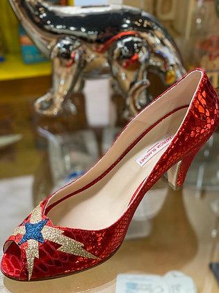 Escarpins cute rouge Patricia Blanchet