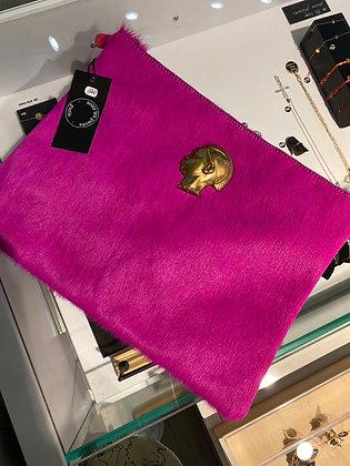 Pochette poulain fushia édition limitée 35x27 cm