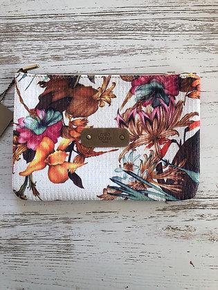 Pochette tropicale Mila Louise 24x17 cm