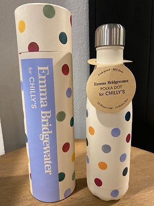Bouteille isotherme Polka Dot 590ml CHILLY'S