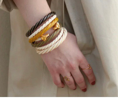 Bracelet résine simple