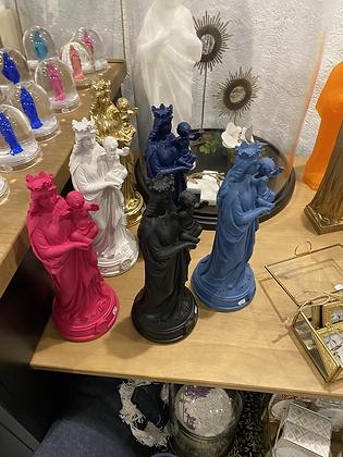 Vierge bonne mère résine