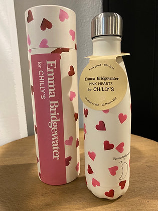 Bouteille isotherme Pink Hearts 500ml CHILLY'S