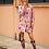 Thumbnail: Manteau léger rose avec perroquets