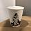 Thumbnail: Tasse Scooter en porcelaine Helen B.