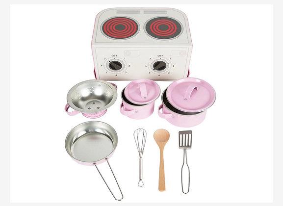 Dînette , casseroles et ustensiles