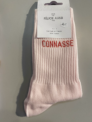 Chaussettes connasse blanche ou rose 35/40